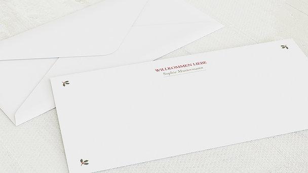 Umschlag mit Design  Baby - Süße Post