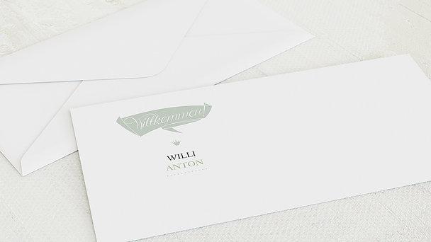 Umschlag mit Design  Baby - Ankunft