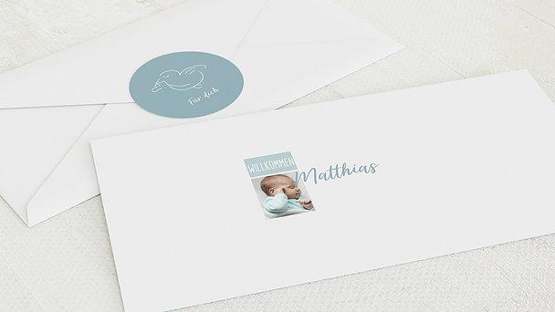 Umschlag mit Design  Baby - Tiny big love