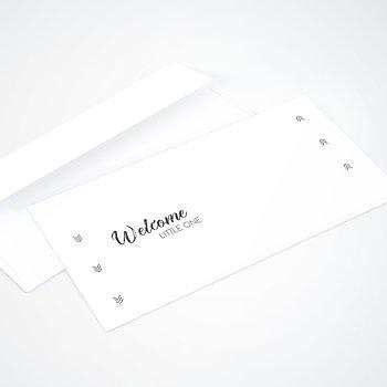 Umschlag mit Design  Baby - Zauberzart