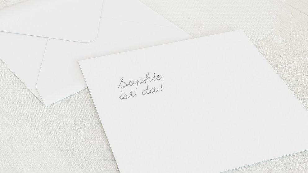 Umschlag Mit Design Baby Einfach Simple Detail