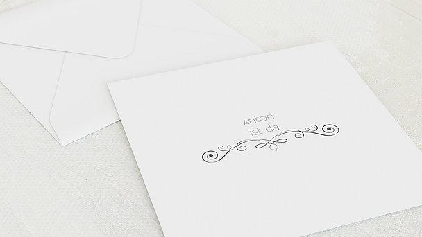 Umschlag mit Design  Baby - Babytafel