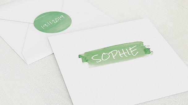 Umschlag mit Design  Baby - Günther