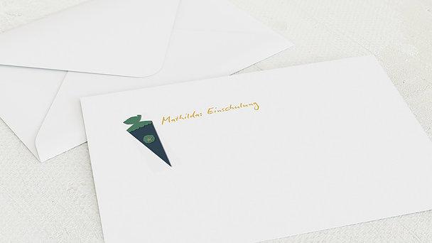 Umschlag mit Design Einschulung - Packspaß