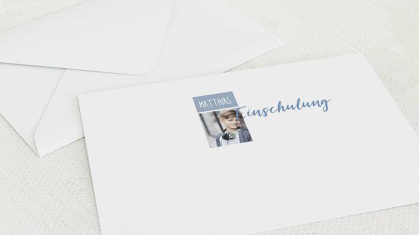 Umschlag mit Design Einschulung - Lernanfänger