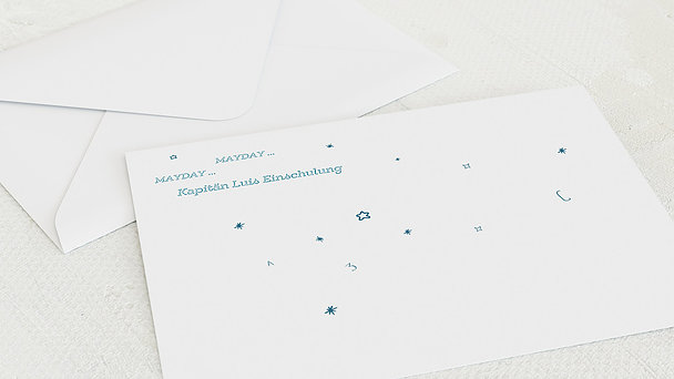 Umschlag mit Design Einschulung - Apollo