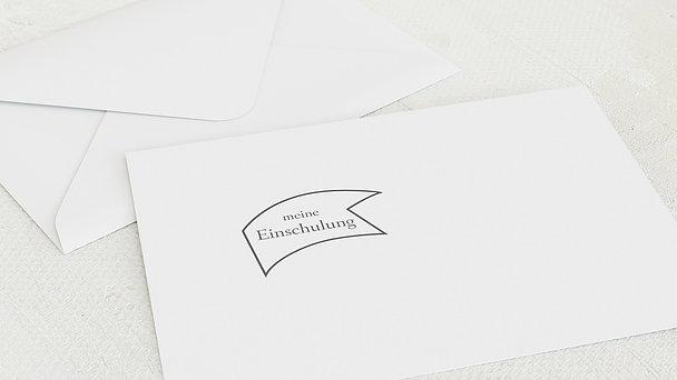 Umschlag mit Design Einschulung - Jahrestafel Einschulung