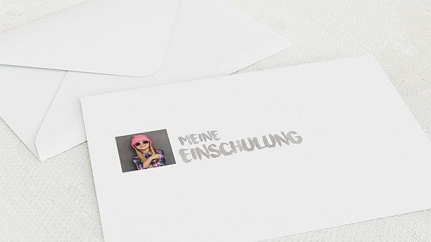Umschlag mit Design Einschulung - Formvoll Einschulung