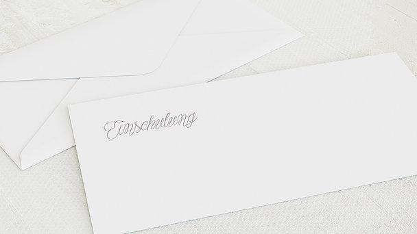 Umschlag mit Design Einschulung - Zauberlicht