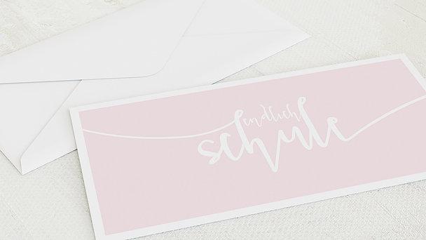 Umschlag mit Design Einschulung - Spielerei