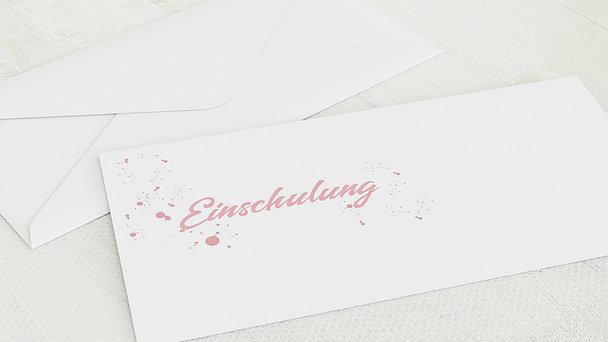 Umschlag mit Design Einschulung - Kraftquelle