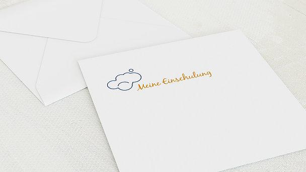 Umschlag mit Design Einschulung - Rechenblock