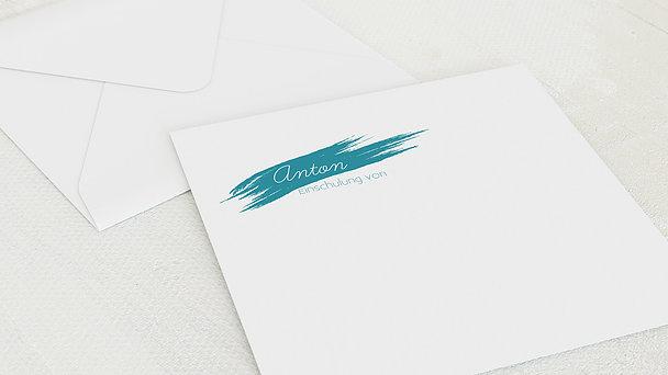 Umschlag mit Design Einschulung - Es geht los