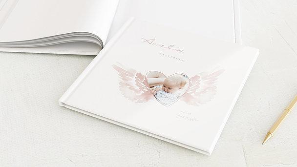 Gästebuch Taufe - Unser Engel