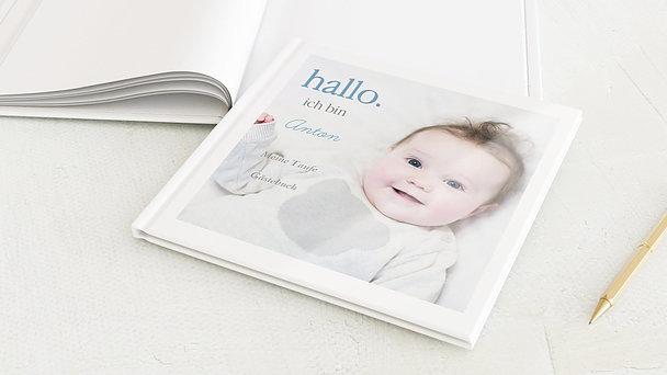 Gästebuch Taufe - Willkommen
