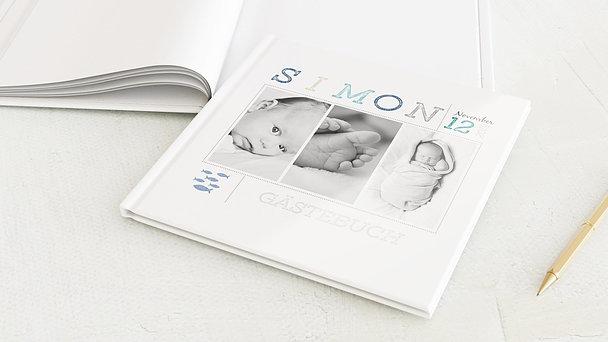 Gästebuch Taufe - Erster Gruß