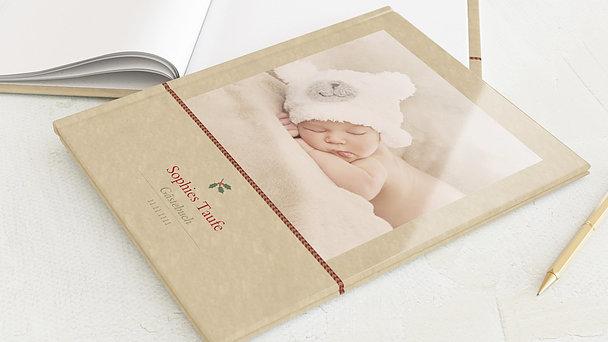 Gästebuch Taufe - Süße Post