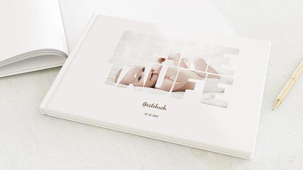 Gästebuch Taufe - Taufe Fototext