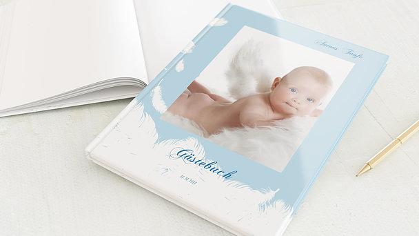 Gästebuch Taufe - Feder
