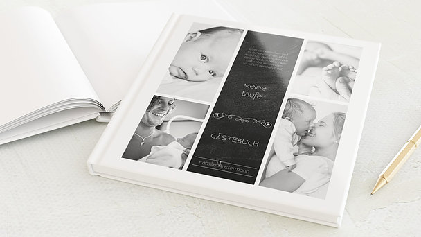 Gästebuch Taufe - Babytafel
