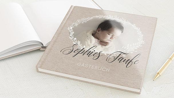 Gästebuch Taufe - Sanft & Geborgen