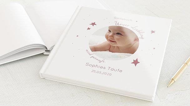 Gästebuch Taufe - Baby Star