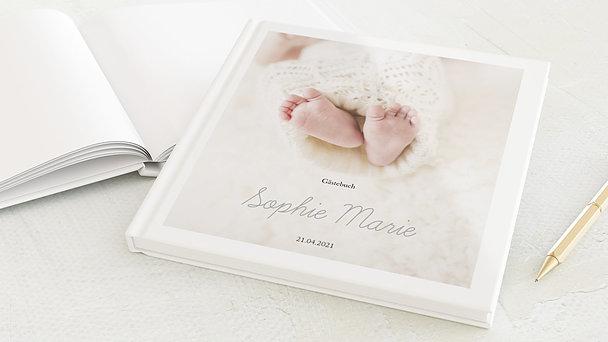 Gästebuch Taufe - Einfach & Simple