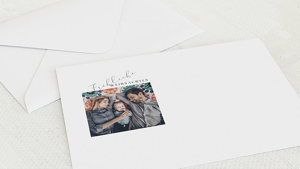 Umschlag mit Design Weihnachten - Weihnachtsfunke