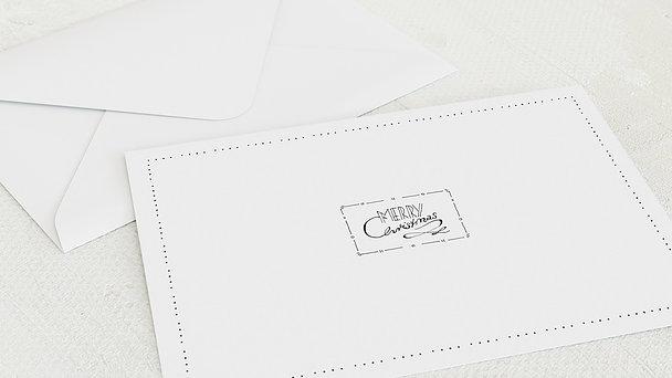 Umschlag mit Design Weihnachten - Winter Wishes