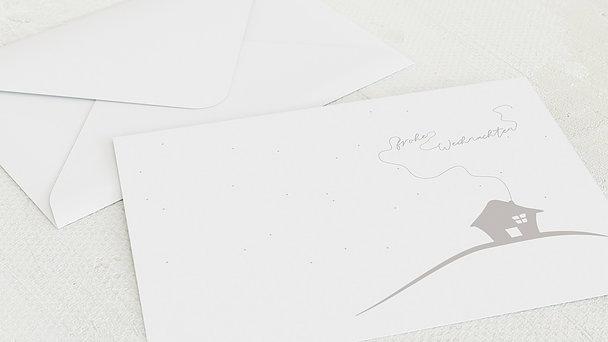 Umschlag mit Design Weihnachten - Stille Nacht