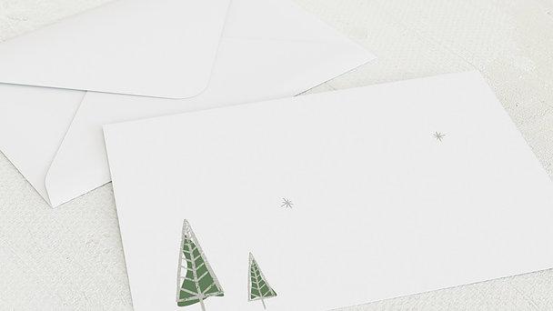 Umschlag mit Design Weihnachten - Stern der Weisen