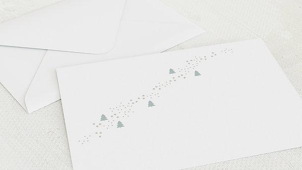 Umschlag mit Design Weihnachten - Edles Fest