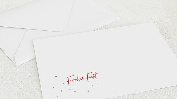 Umschlag mit Design Weihnachten - Sternenfreude