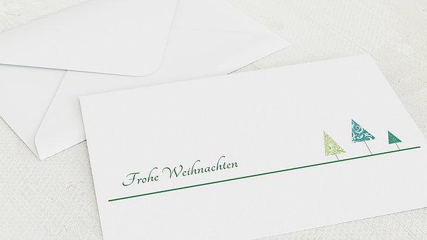 Umschlag mit Design Weihnachten - Weihnachtsfest