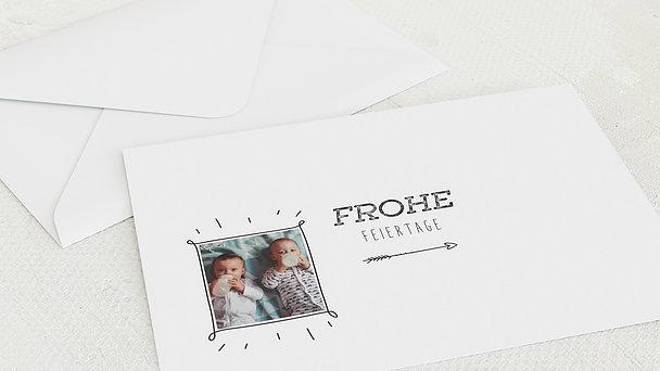 Umschlag mit Design Weihnachten - Zimt & Zucker