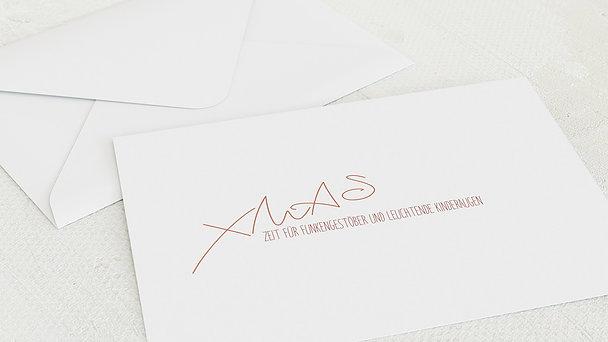 Umschlag mit Design Weihnachten - Milky Way