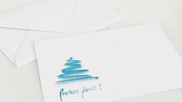 Umschlag mit Design Weihnachten - Christbaum