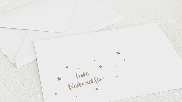 Umschlag mit Design Weihnachten - Bilder Baum