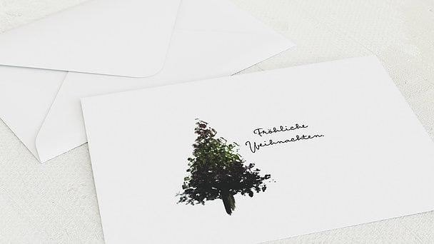 Umschlag mit Design Weihnachten - Vorfreude