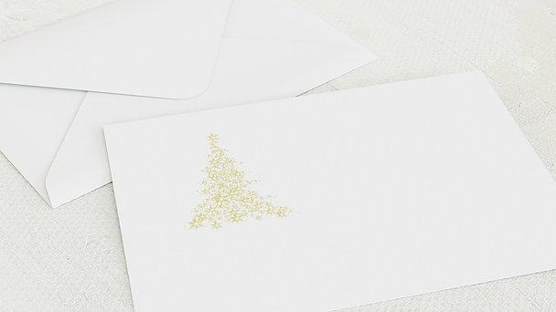 Umschlag mit Design Weihnachten - Lichtflut
