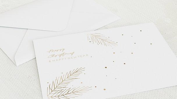 Umschlag mit Design Weihnachten - Glanzvolles Fest