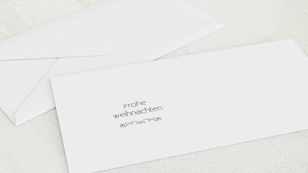 Umschlag mit Design Weihnachten - Weihnachtstafel
