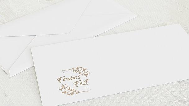 Umschlag mit Design Weihnachten - Canella
