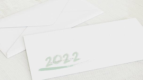 Umschlag mit Design Weihnachten - Aquarell