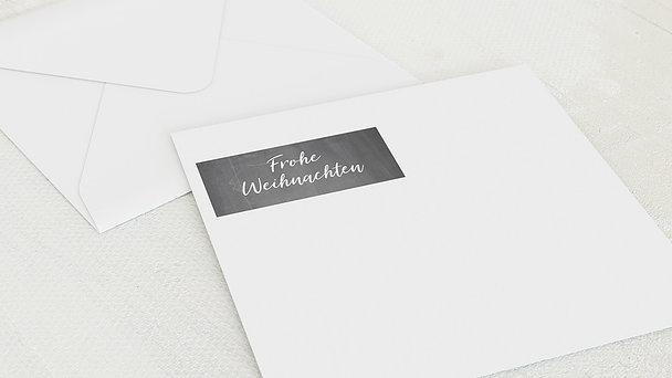 Umschlag mit Design Weihnachten - Getäfelt Weihnachten