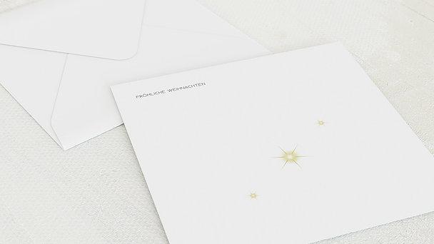 Umschlag mit Design Weihnachten - Kopf hoch!