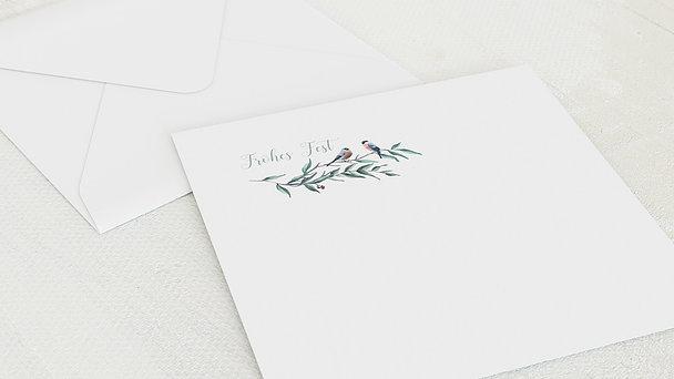 Umschlag mit Design Weihnachten - Winternest