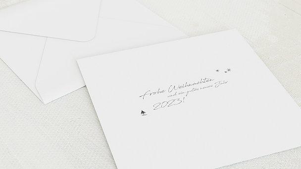 Umschlag mit Design Weihnachten - Wärmende Momente