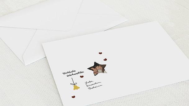 Umschlag mit Design Weihnachten - Tralalalala