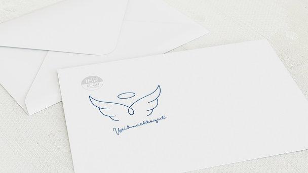 Umschlag mit Design Weihnachten Geschäftlich - Engel